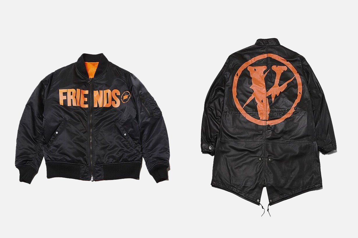 VLONE x fragment design THE PARK ING GINZA Bomber and Parka - 3758558