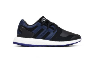 Y-3's Take on the PureBOOST Drops in Black & Blue