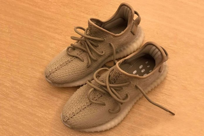 "Here's Your First Look at the Alleged YEEZY BOOST 350 V2 ""Earth"" Model"