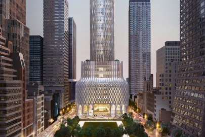 A First Look at Zaha Hadid Architects' Skyscraper on NYC's Fifth Avenue
