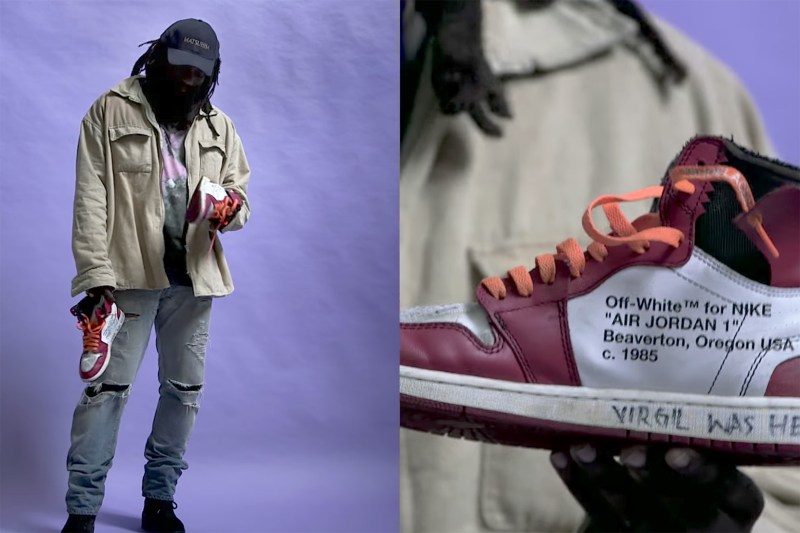 dbe39cc75a11e0 As we count down the days to the launch of the collaborative Virgil Abloh x  Nike collection