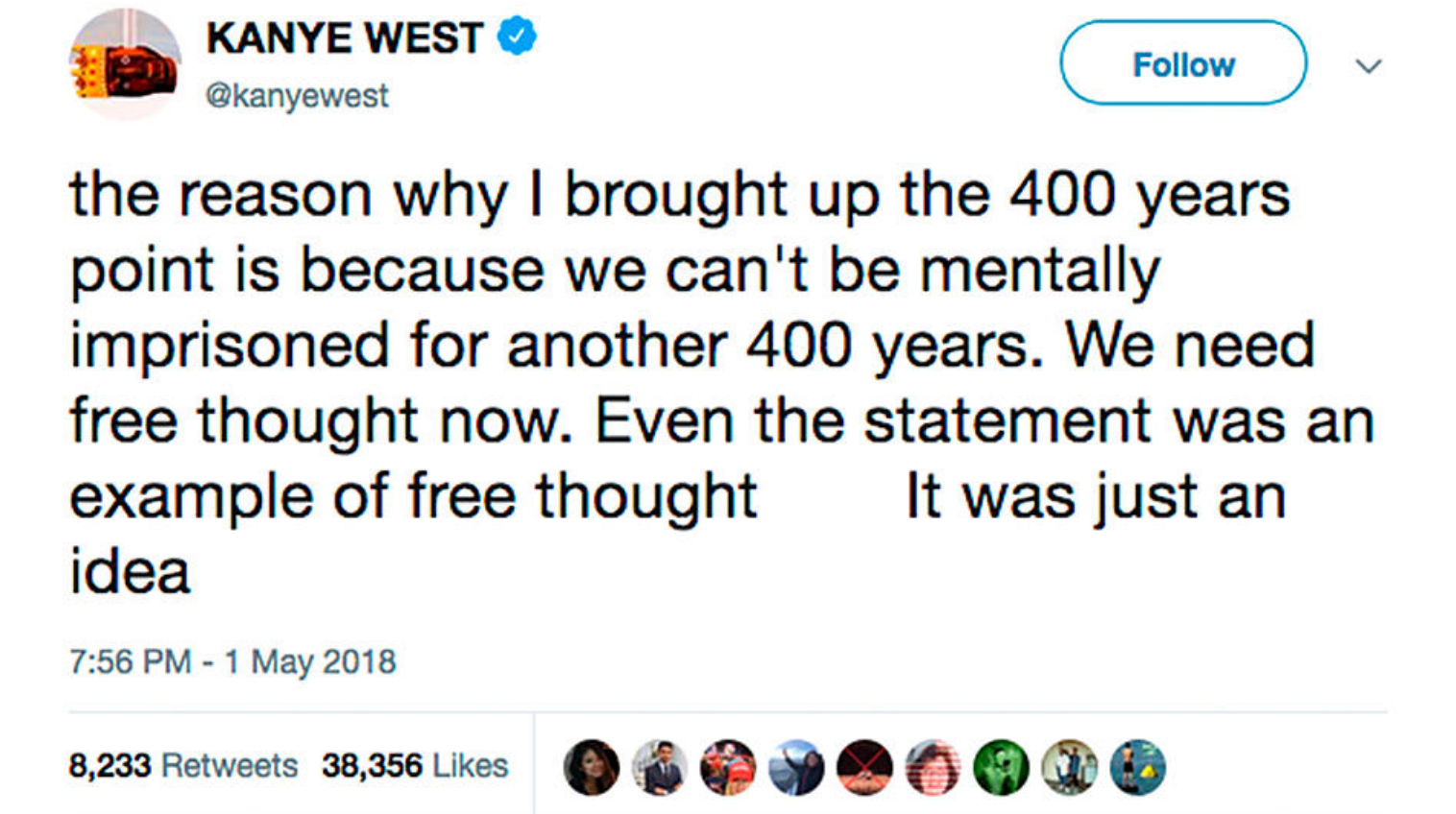 Kanye West Clarifies His Slavery Remarks tmz videos interviews