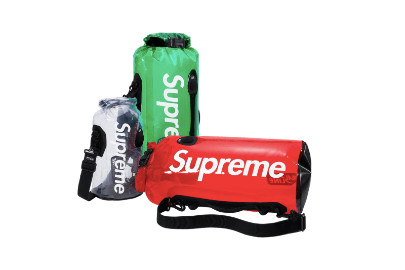 Supreme Spring/Summer 2019 Accessories Seal-line Waterproof Dry Bags Clear Red Green