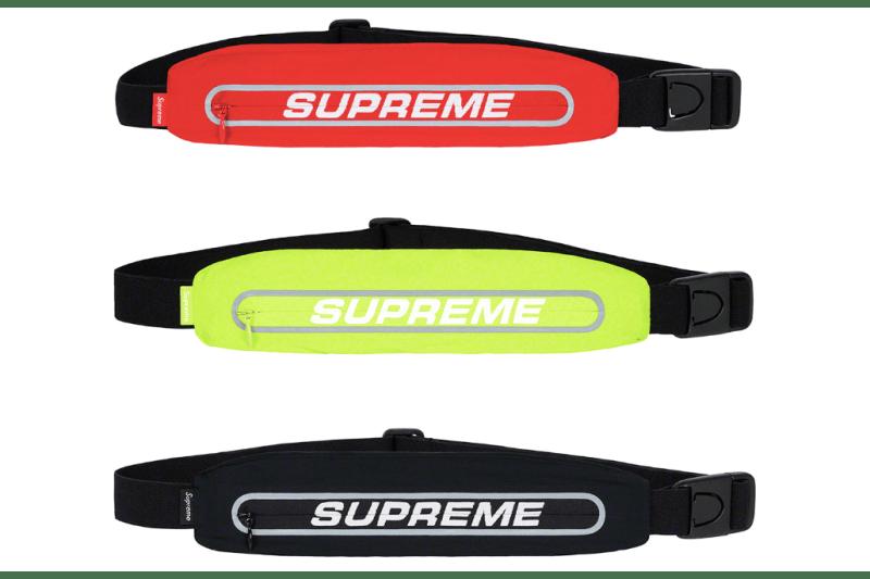 Supreme Spring/Summer 2019 Accessories Running Waist Bag