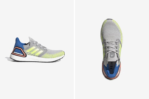 """adidas Drops Tri-Colored UltraBOOST 20 Featuring """"Signal Green"""" Webbing"""