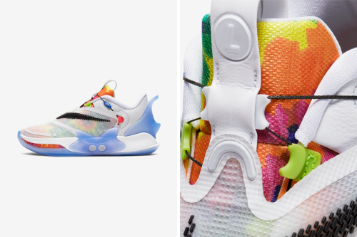 Nike Adapt BB 2.0 Takes On Whimsical Tie-Dye Prints