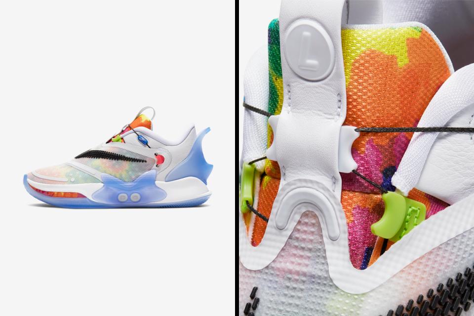 """Nike Adapt BB 2.0 """"Tie-Dye"""" - tehnoloģiju jaunumi"""