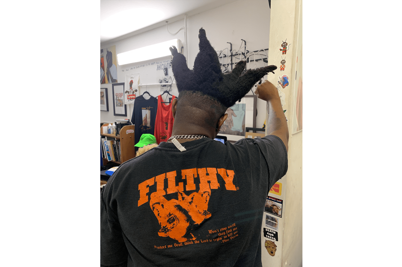 Very Filthy Shit Project Instagram Magazine Interview Jerry Carnation Delray Beach Florida