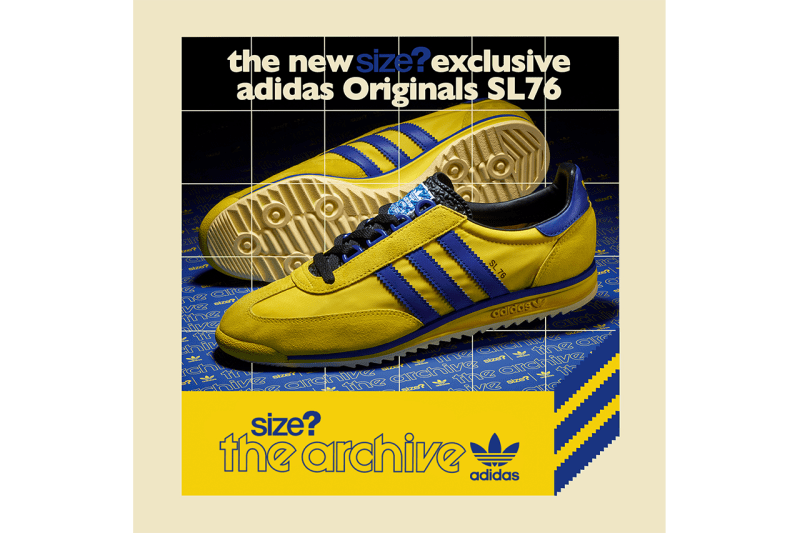 size Adidas originals sl 76 72 archive release exclusive red blue yellow release information where to cop