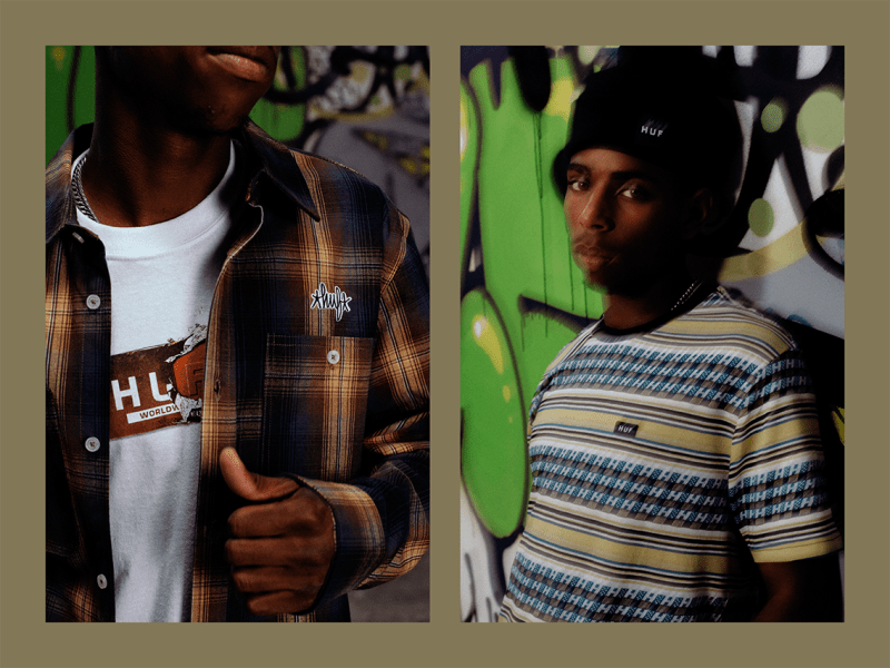 huf worldwide holiday 2020 look book release skateboarding skating clothing remio