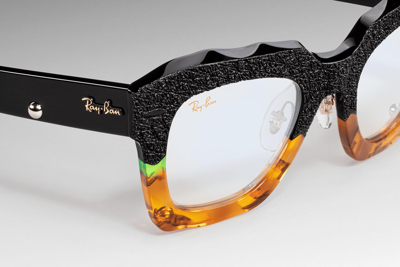 Patrick Mason x Ray-Ban Studios State Street Custom Limited Edition Italy 100 Units Piece Berlin Artist Glasses Chain Sunglasses Dover Street Market London