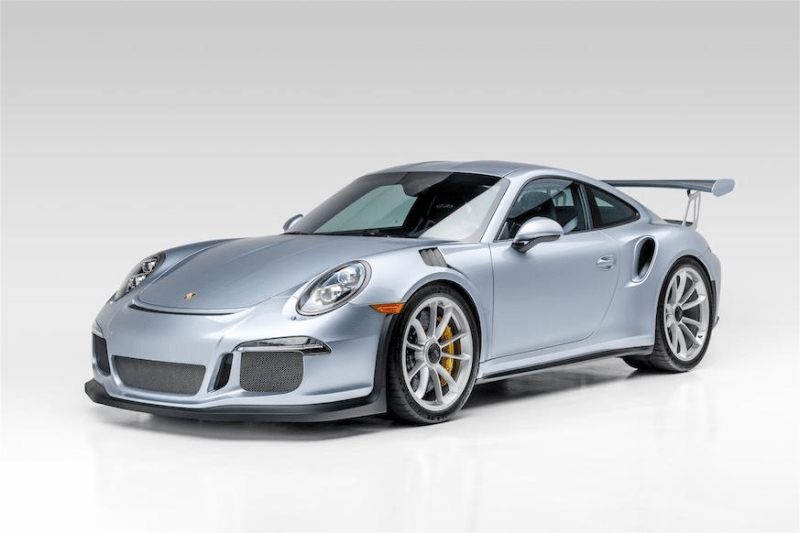 2016 Porsche 911 GT3 RS Jerry Seinfeld Bonhams Auction For Sale German Supercar V6 WP0AF2A92GS193911 Power Speed Performance Cars