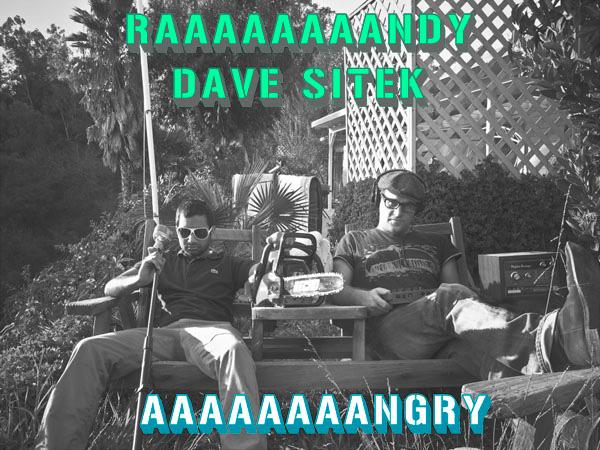 RAAAAAAAANDY & Dave Sitek - AAAAAAAANGRY