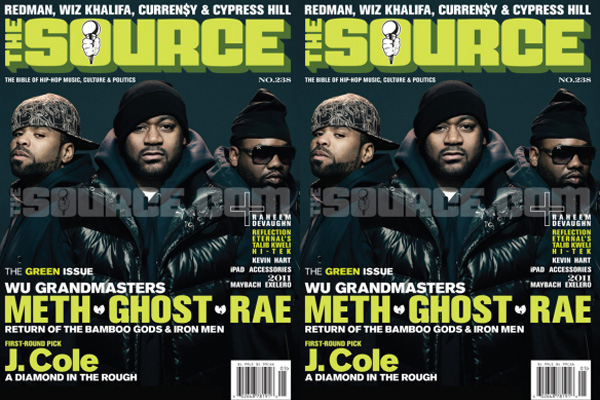 Method Man, Ghostface & Raekwon Cover The Source