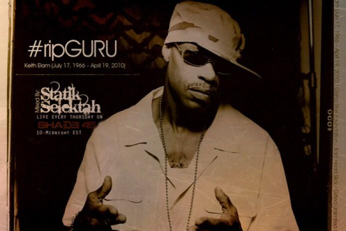 Statik Selektah's Tribute to GURU on Shade45