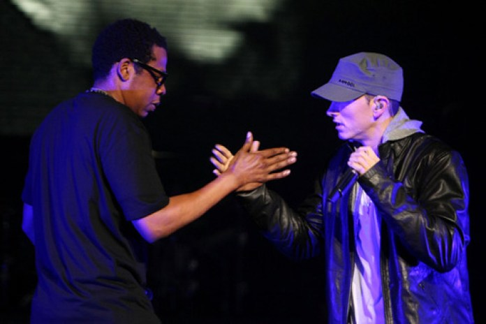 Jay-Z And Eminem Team Up For Hometown-Concerts