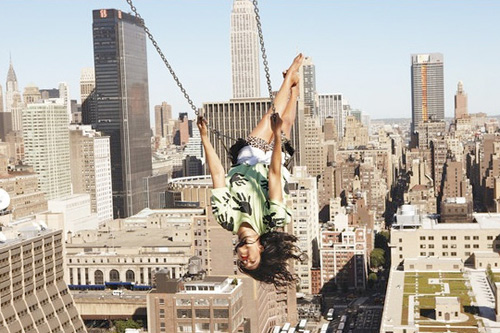 Ryan McGinley Shoots M.I.A. for New York Times Magazine