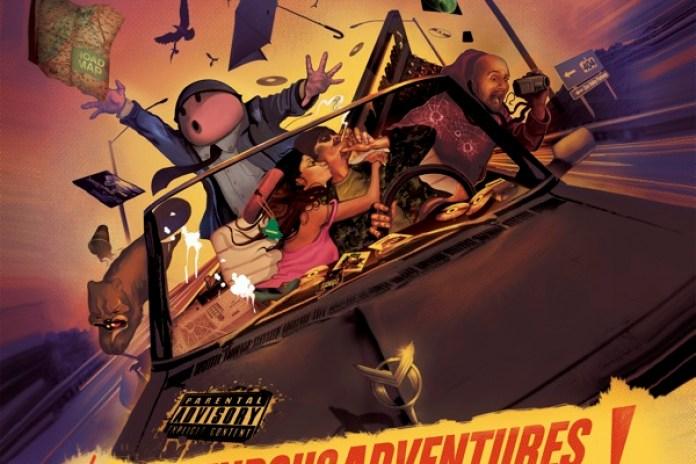 Marco Polo – The Stupendous Adventures of Marco Polo (Album Artwork)
