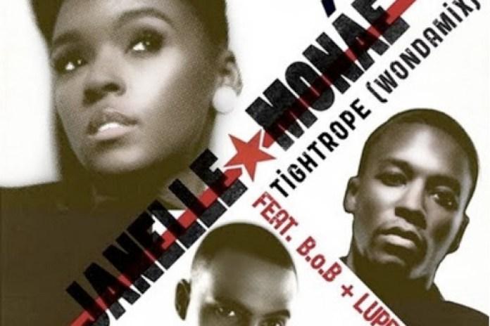 Janelle Monáe featuring B.o.B & Lupe Fiasco - Tightrope (Wondamix)