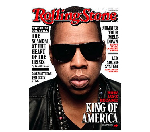 Jay-Z Covers Rolling Stone Magazine