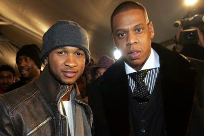 Usher featuring Jay-Z & Ester Dean - Hot Toddy