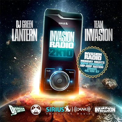 DJ Green Lantern & Team Invasion – Invasion Radio 2K10 (Mixtape)