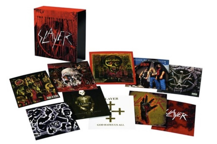 "Slayer To Release Limited Edition Vinyl Box Set: ""The Vinyl Conflict"""