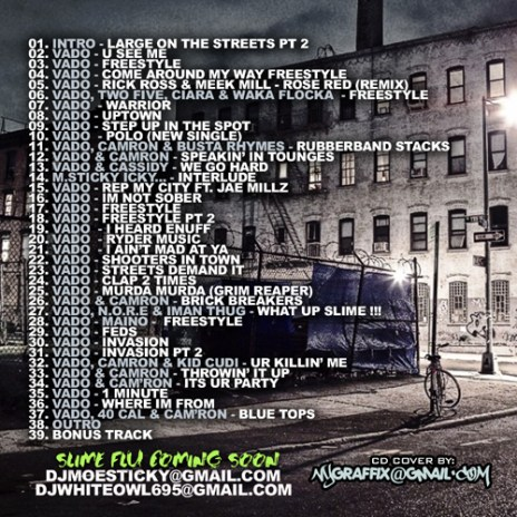 Vado - Large On The Streets Pt 2 (Mixtape)