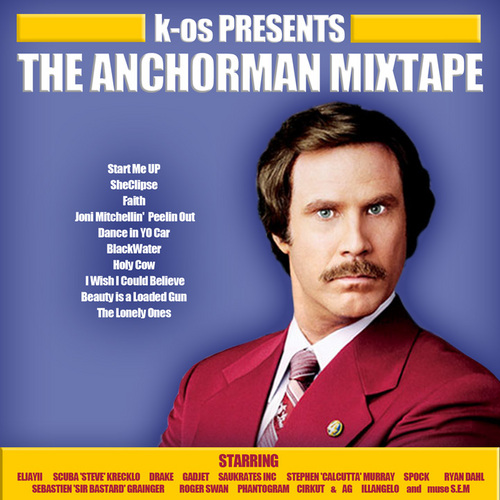 k-OS - The Anchorman Mixtape