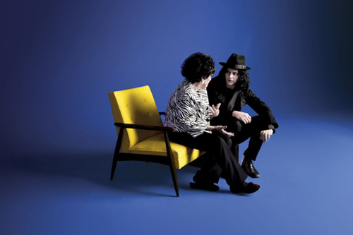 Jack White Produces Wanda Jackson's New Album