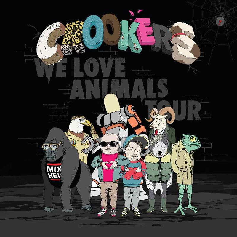 "Crookers Announce ""We Love Animals"" North American Tour"