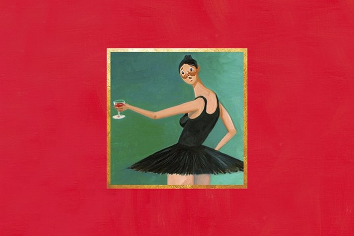 "Kanye West's ""My Beautiful Dark Twisted Fantasy"" Album Cover"
