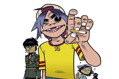 Gorillaz featuring Daley - Doncamatic (All Played Out)