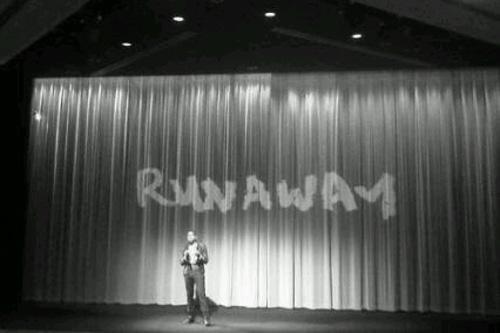 "Kanye West Screens ""Runaway"" In London"