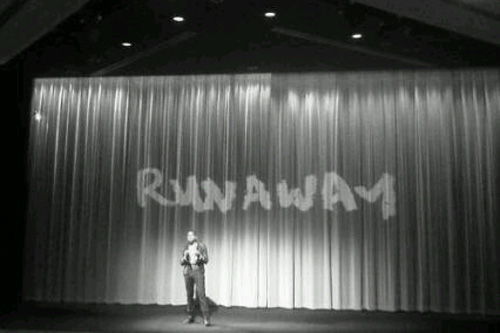 "Kanye West Screens ""Runaway"" In London"