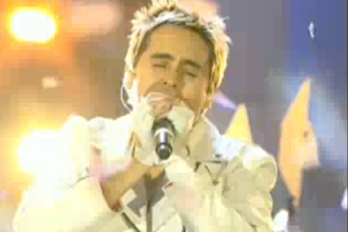 30 Seconds To Mars featuring Kanye West -  Hurricane (Live @ EMA 2010 Madrid)