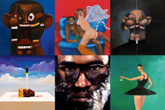 George Condo Explains His Covers for Kanye West's Twisted Fantasy