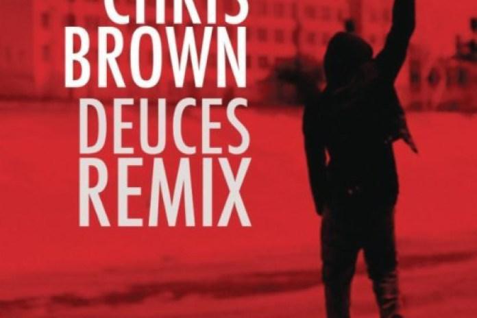Chris Brown featuring Drake, T.I., Kanye West, Fabolous, Rick Ross & Andre 3000 - Deuces (Remix)