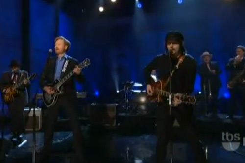 Jack White & Conan O'Brien - Twenty Flight Rock (Live On Conan)