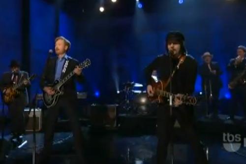 Jack White & Conan O'Brien - Twenty Flight Rock (Live On Conan)