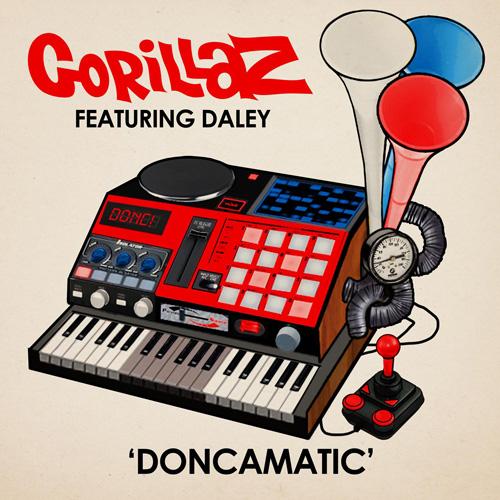 Gorillaz featuring Daley - Doncamatic (Joker Remix)