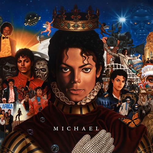 Michael Jackson - Michael (Artwork)