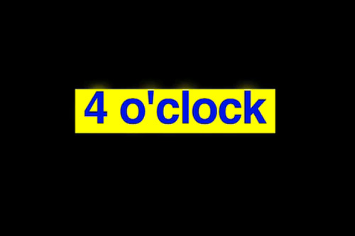 The Streets - 4 O'Clock