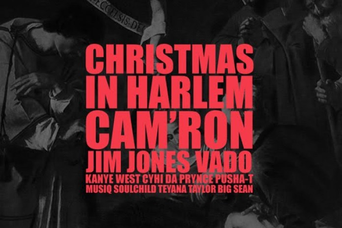 Kanye West featuring Vado, Jim Jones, Cam'ron, CyHi Da Prynce, Pusha T, Musiq, Teyana Taylor & Big Sean – Christmas in Harlem