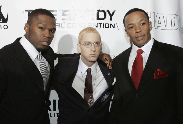 Eminem featuring Jay-Z, Dr. Dre, 50 Cent, Cashis, Stat Quo - Syllables