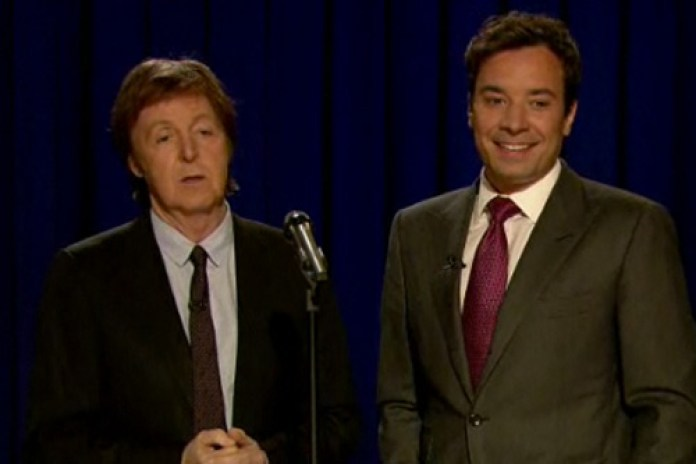 Paul McCartney - Tribute To John Lennon (Live On Fallon)