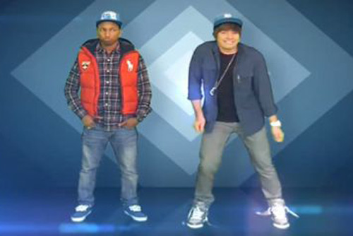 Pharrell Williams & Jimmy Fallon - Reflections With Justin Bieber