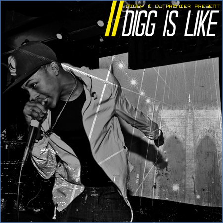 Diggy Simmons - Digg is Like (Produced by DJ Premier)