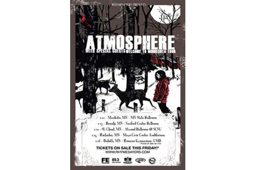 Atmosphere featuring Felipe Cuauhtli, Prof, Mr. Gene Poole - Minnesota Nice