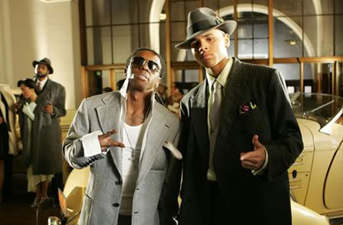 Chris Brown featuring Lil' Wayne & Busta Rhymes – Look At Me Now